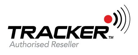 Tracker tracking device logo