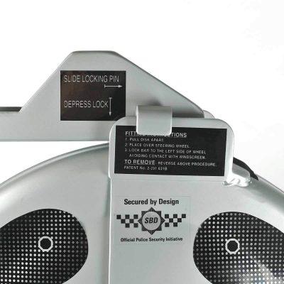 The Ultmate Steering Wheel Lock