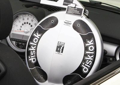 Disklok Medium - The Ultimate Steering Wheel Lock