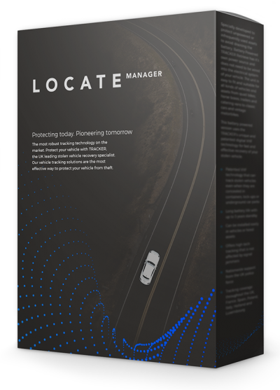 Tracker Locate Manager Fleet Management System