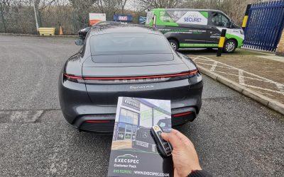 Porsche Taycan Tracking System