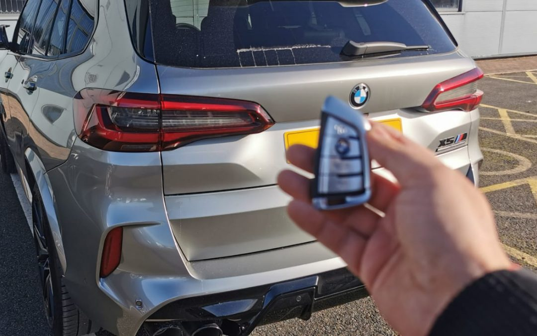 BMW X5 Competition Tracking System