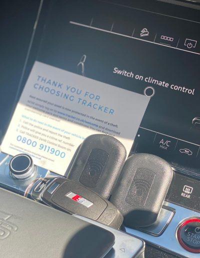 Audi E Tron S5 Insurance Tracker